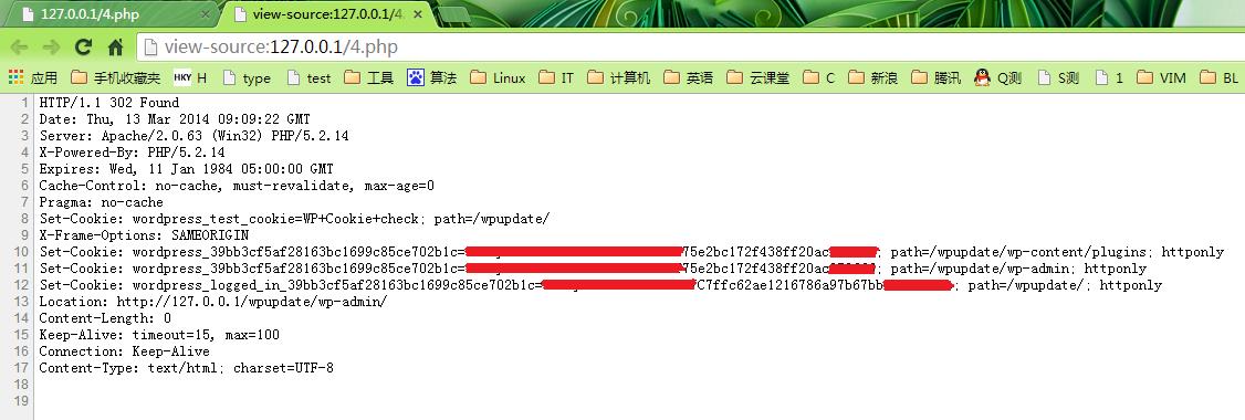 """chrome中右键""""查看网页源代码"""""""