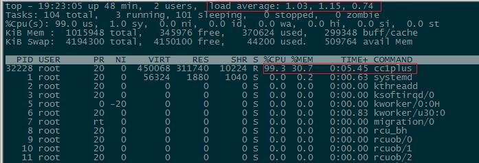编译MySQL5.7.7rc的make命令执行结果