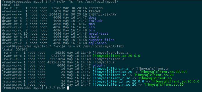 初始化MySQL自身的数据库