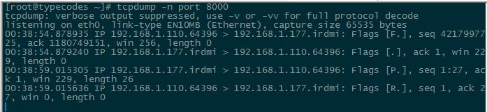 在Linux中使用TCPDUMP抓包