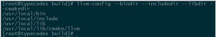 使用llvm-config查看LLVM的配置