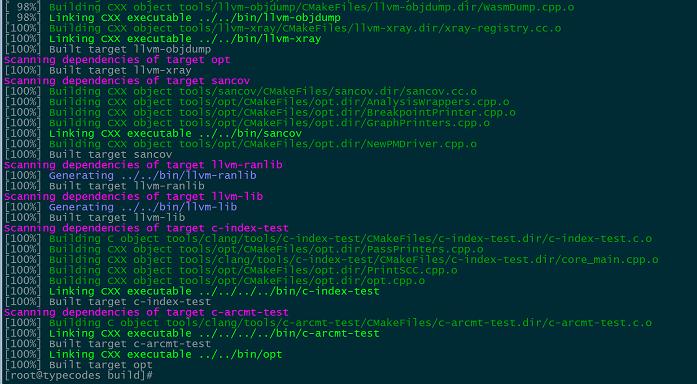 安装 libcxx 和 libcxxabi